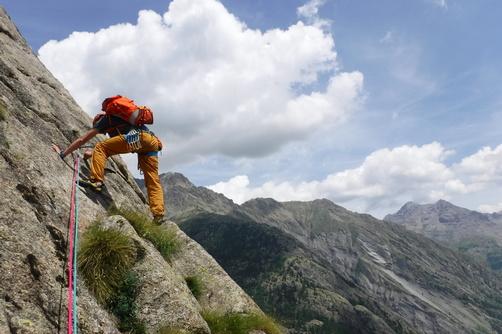 Wspinanie w Alpach